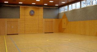 Füllt sich nach Pfingsten wieder mit Leben - die Oskar-Steiner-Halle